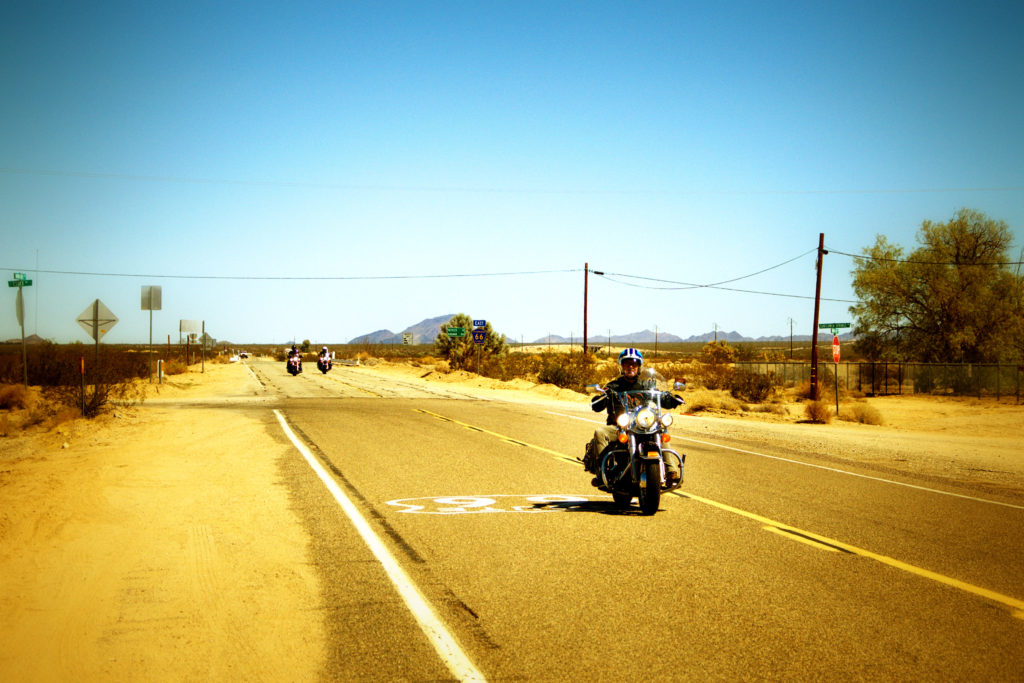 Fold the top of your convertible, feel the wind in your hair, enjoy the freedom... Top stops on Route 66 road trip, US West Coast.