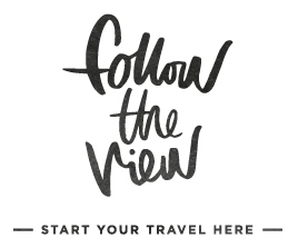 follow the view | start your travel here