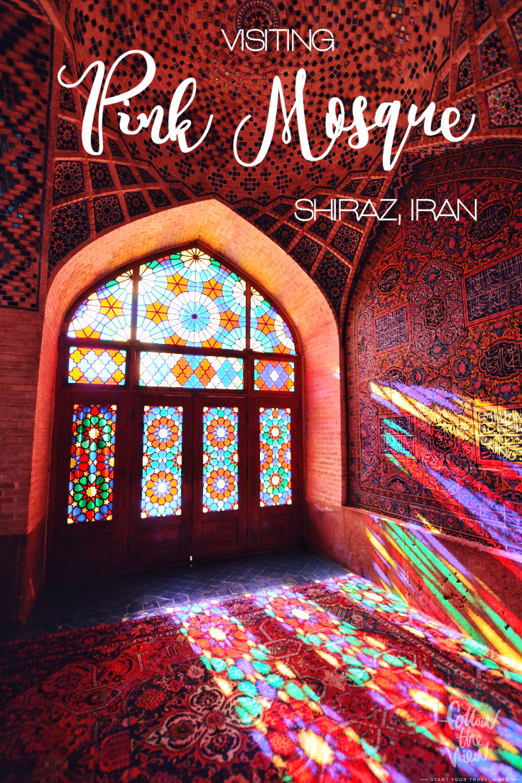 Incredible photos and your guide to Nasir al Mulk Mosque! How to plan your visit to the Pink Mosque in Shiraz?