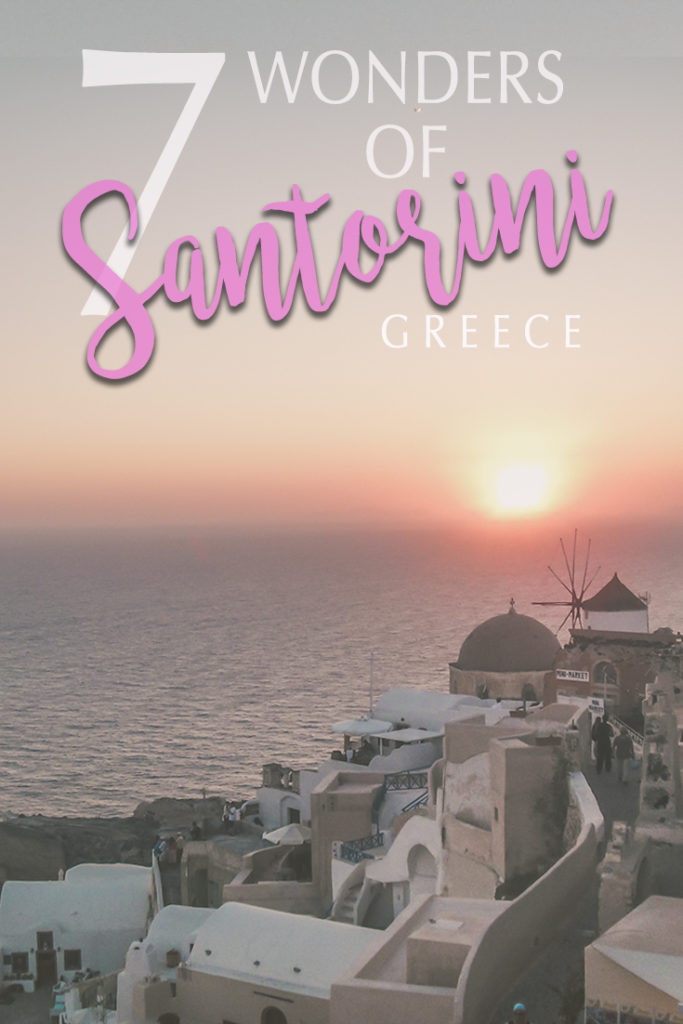 What to see in Santorini? The sunset in Oia is only one of the best things to do in Santorini. Check what else to do there!