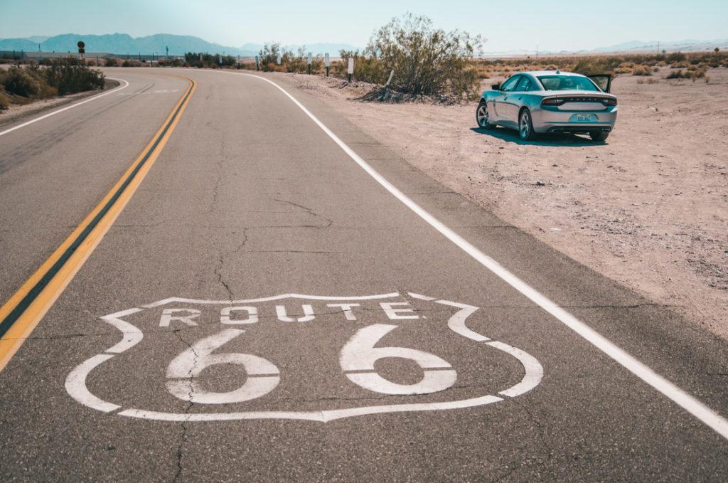 wynajem samochodu w USA - długie przejazdy są wyjątkowo wygodne przez jakość dróg