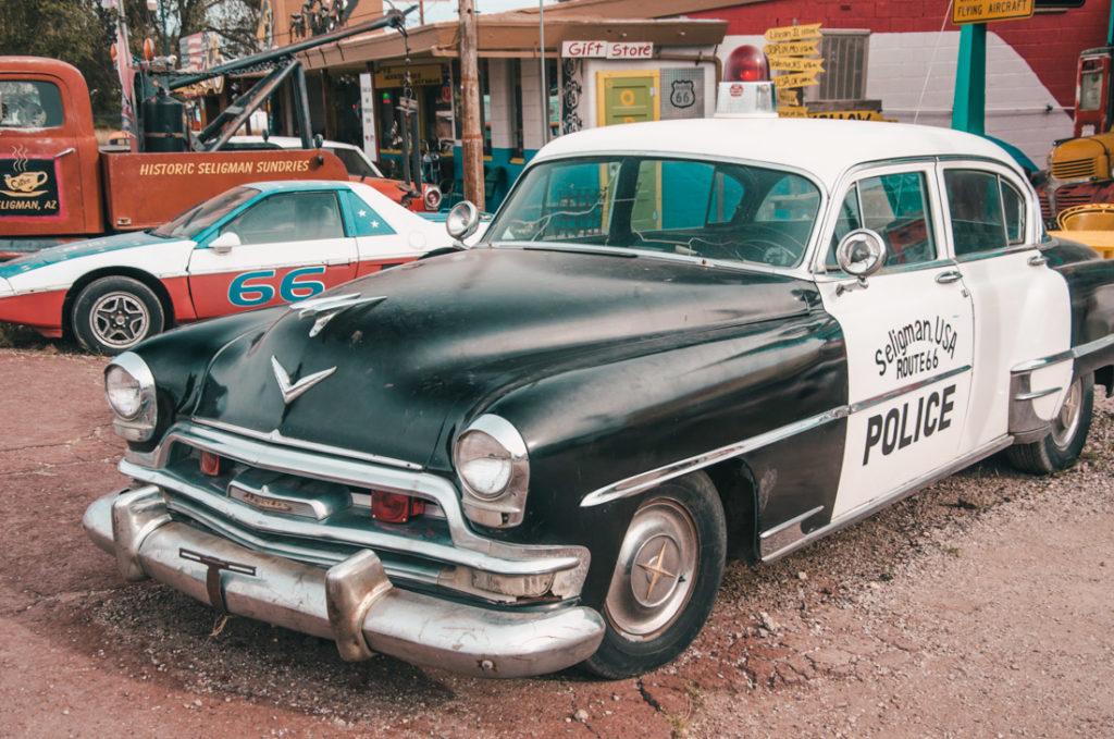 wynajem samochodu w USA - co przy kontroli policji