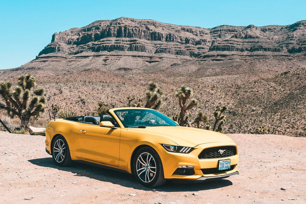 rent a car in the us - cabrio could be an awesome idea