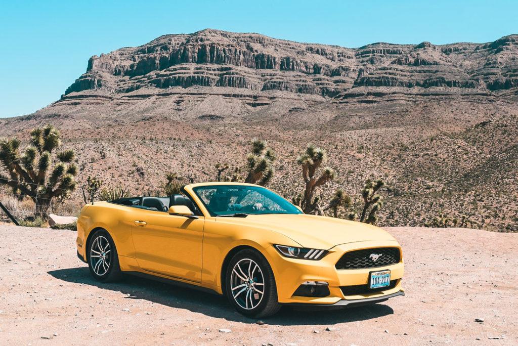 Wynajem samochodu w USA - Mustang Cabrio jest ciekawym pomysłem